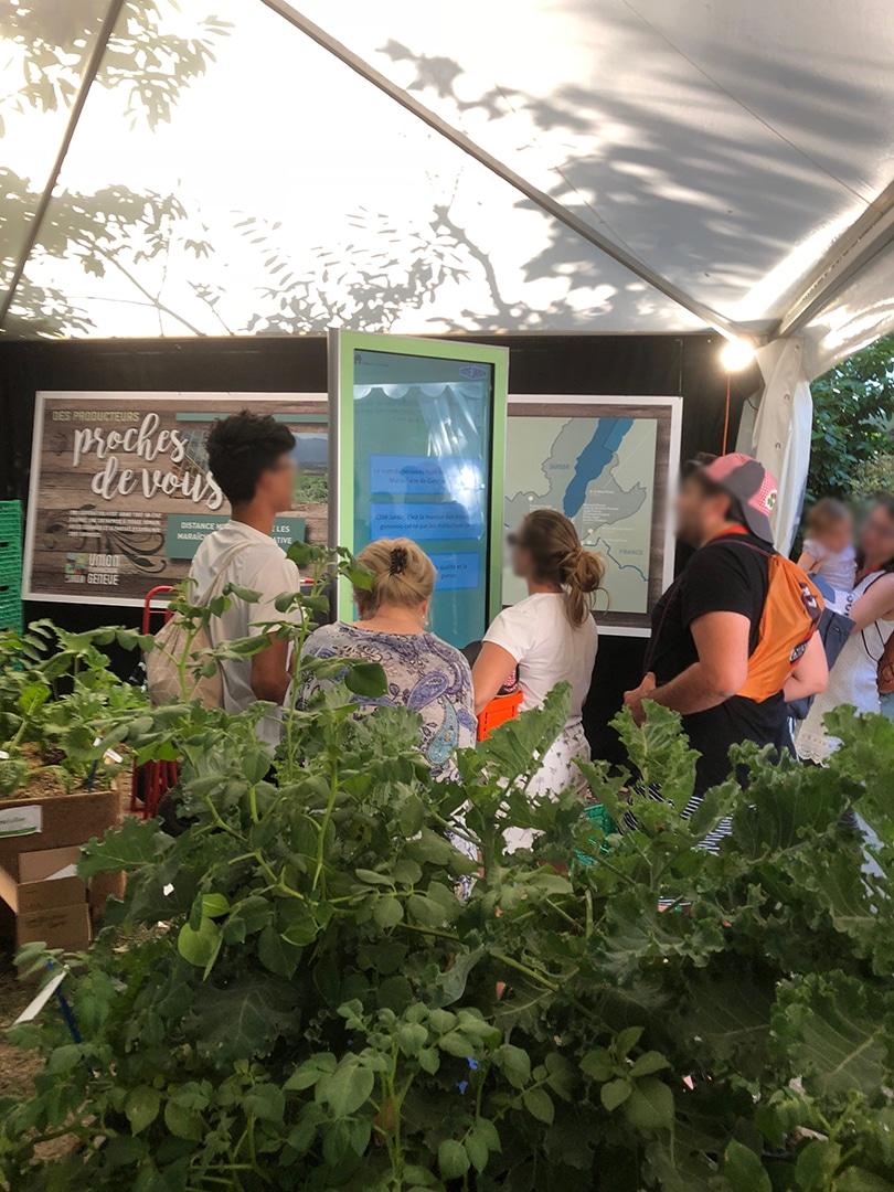 Digital Turn partenaire de l'UMG pour la Fête de la Tomate de Carouge